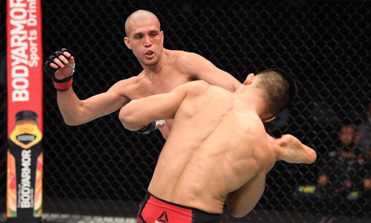 """คืนสังเวียนสวย! """"ออร์เตก้า"""" ซิวชัยเฮแต้ม """"จอง ชาน ซอง"""" ศึก UFC Fight Night"""